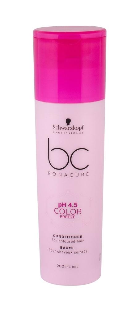 Schwarzkopf Bc Bonacure Ph 4.5 Color Freeze Conditioner 200ml (Colored Hair)