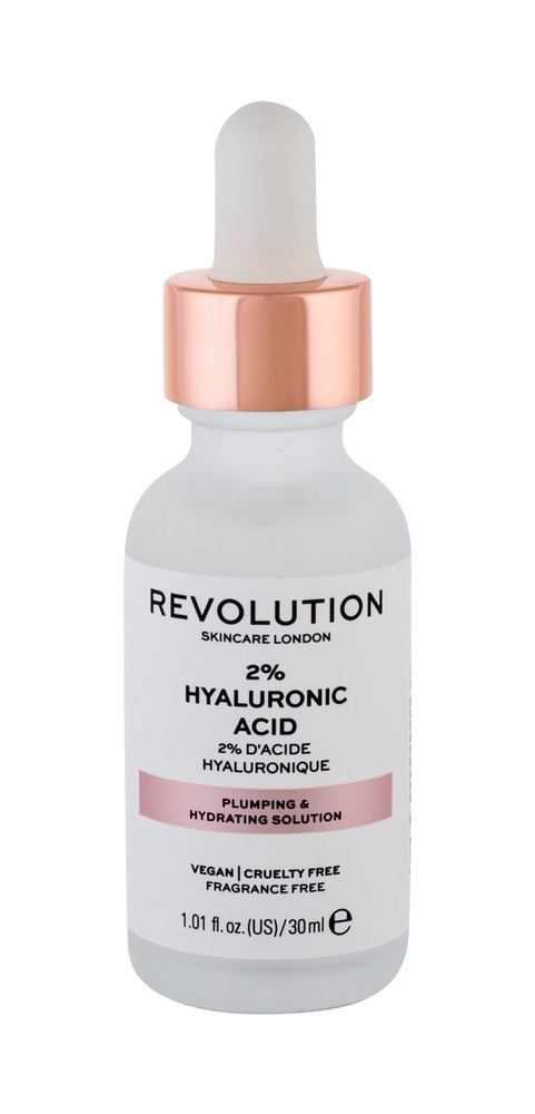 Makeup Revolution London Skincare 2% Hyaluronic Acid Skin Serum 30pc (All Skin Types - For All Ages)