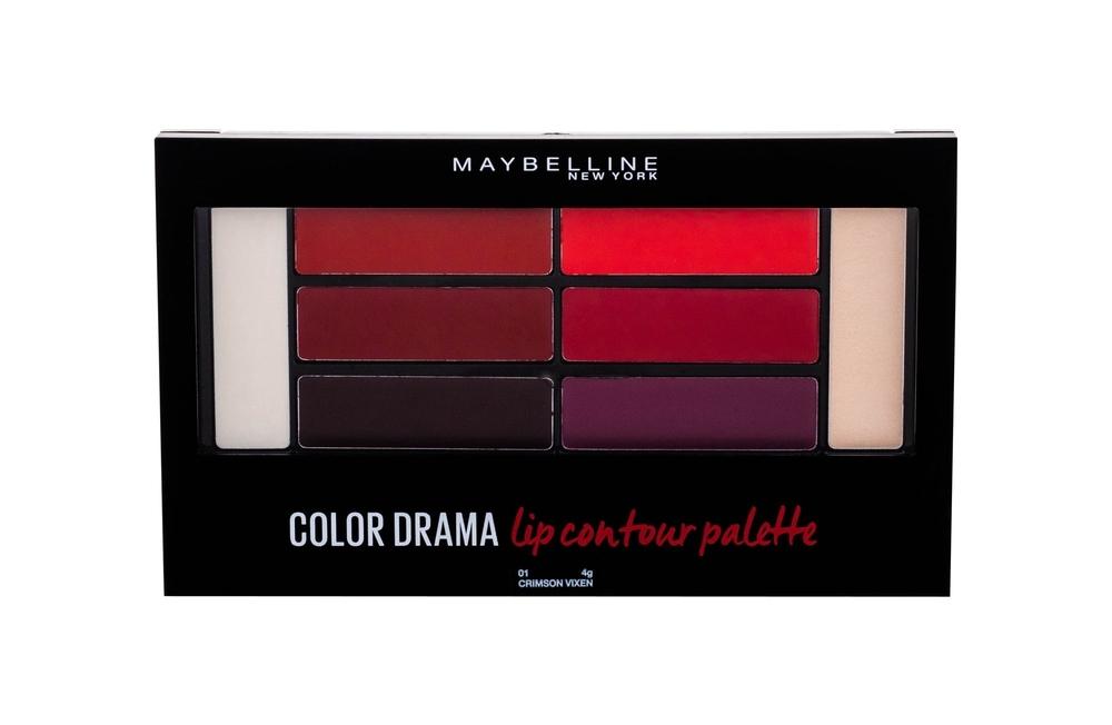 Maybelline Color Contour Lip Palette #2 Crimso 4g