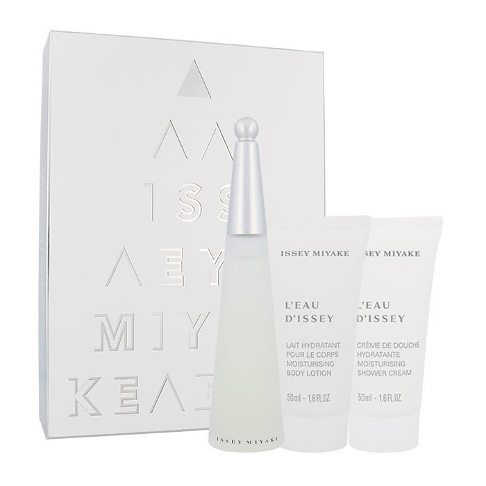Issey Miyake L/eau D/issey Eau De Toilette 50ml Combo: Edt 50ml + 50ml Body Lotion + 50ml Shower Cream