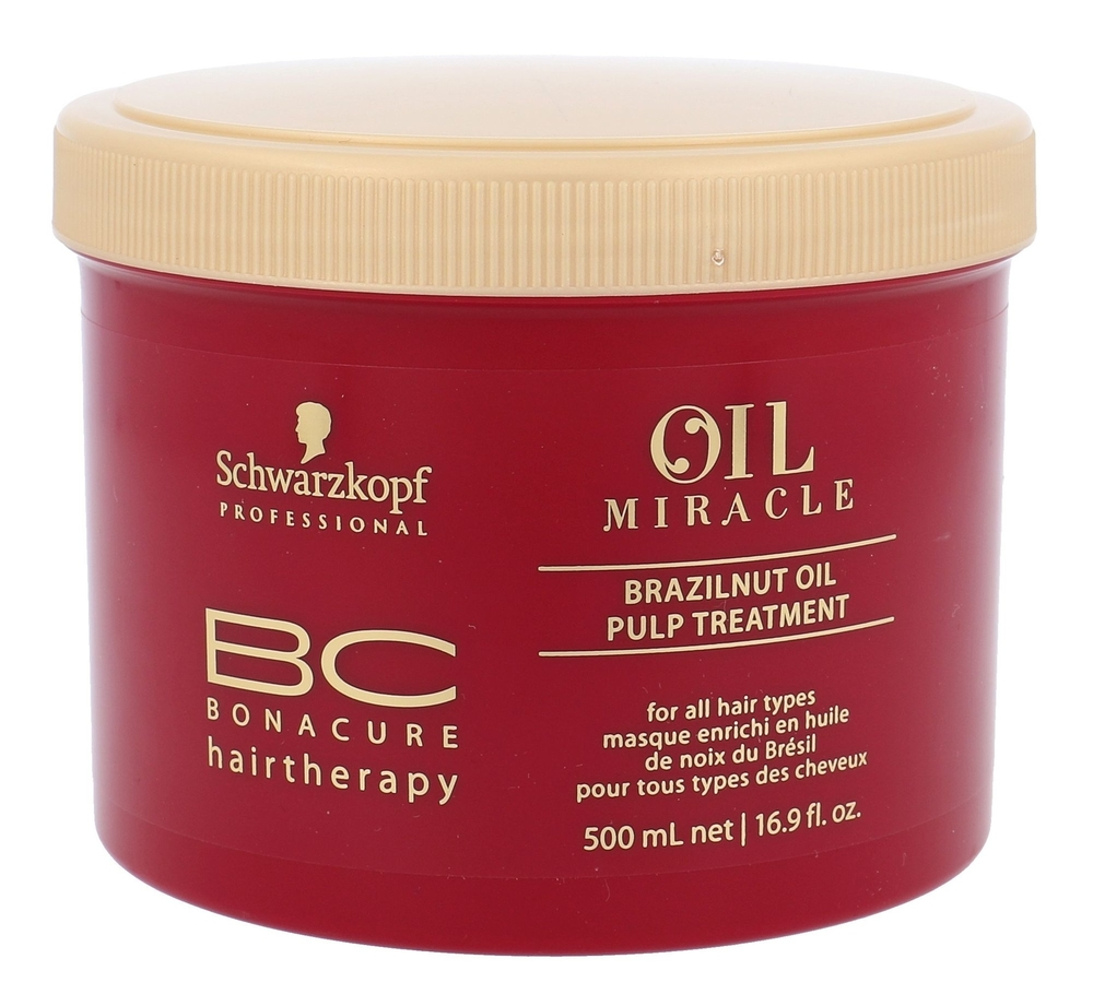 Schwarzkopf Bc Bonacure Oil Miracle Brazilnut Oil Hair Mask 500ml (All Hair Types)