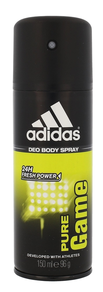 Adidas Pure Game 24h Deodorant 150ml Aluminum Free (Deo Spray)