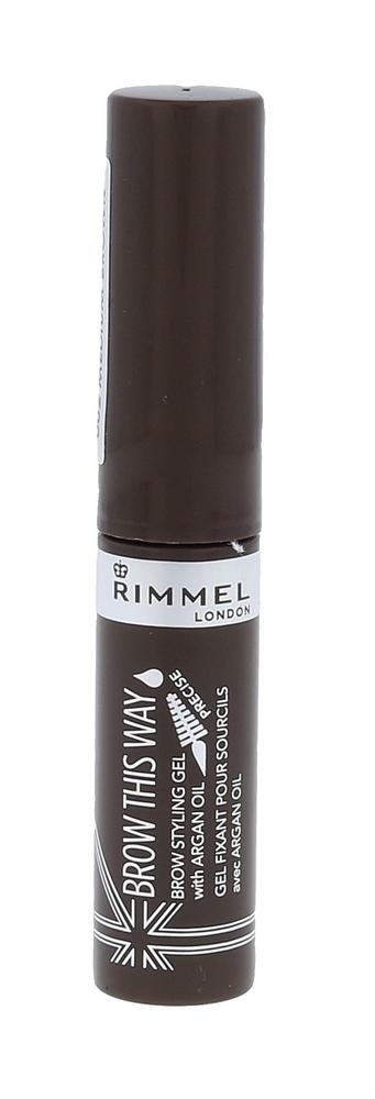 Rimmel London Brow This Way Brow Styling Gel Eyebrow Mascara 5ml 002 Medium Brown