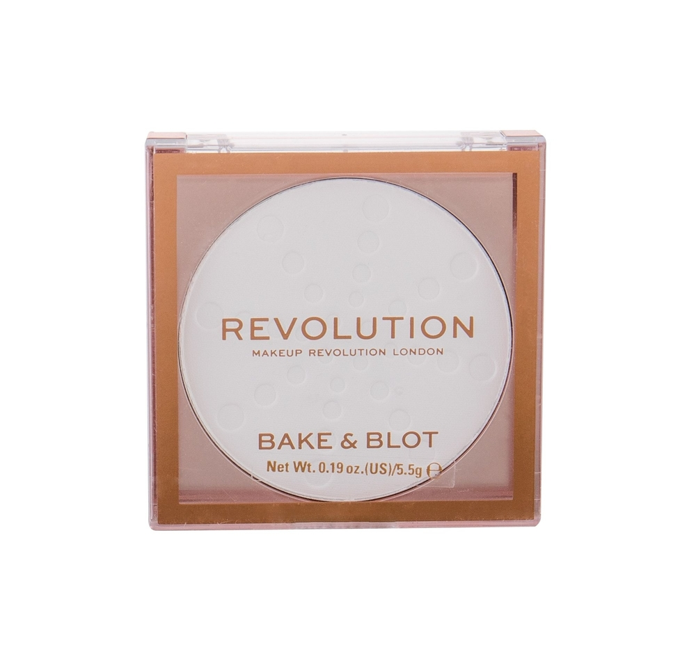 Makeup Revolution London Bake Blot Powder 5,5gr White