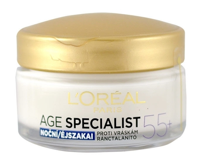 L/oreal Paris Age Specialist 55+ Night Skin Cream 50ml (Wrinkles - All Skin Types)
