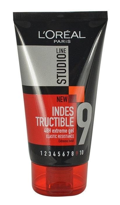 L/oreal Paris Studio Line Indestructible 48h Hair Gel 150ml oμορφια   μαλλιά   styling μαλλιών   gel μαλλιών