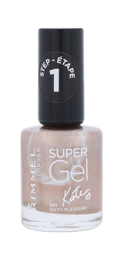 Rimmel London Super Gel By Kate Step1 Nail Polish 12ml 071 Guilty Pleasure