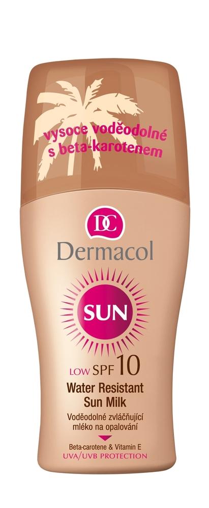 Dermacol Sun Milk Spray Spf10 Sun Body Lotion 200ml Waterproof