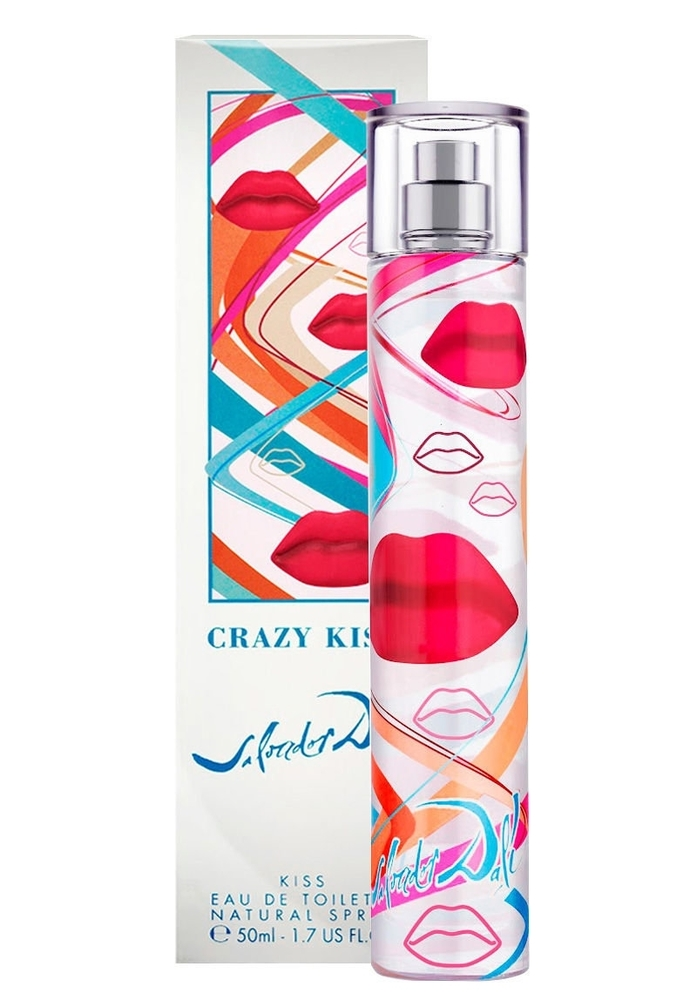 Salvador Dali Crazy Kiss Eau De Toilette 50ml