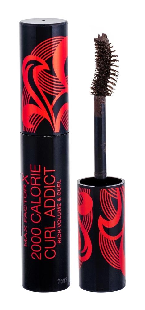 Max Factor 2000 Calorie Curl Addict Mascara 11ml Black Brown