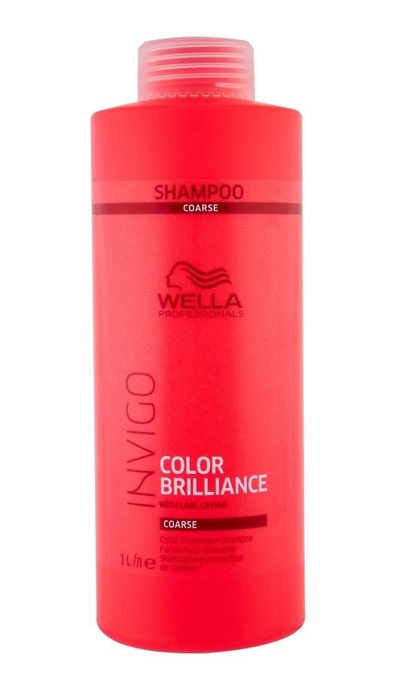 Wella Wpc Invigo Brilliance Coarse Hair Shampoo 1l