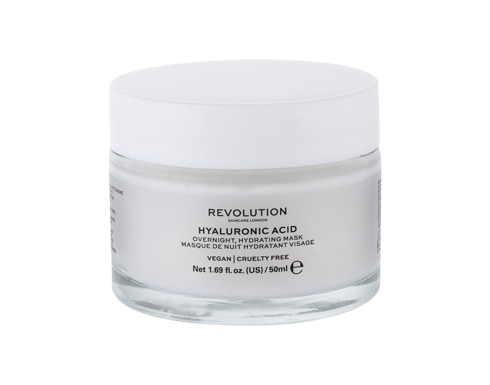 Makeup Revolution London Skincare Hyaluronic Acid Face Mask 50ml (All Skin Types - For All Ages)