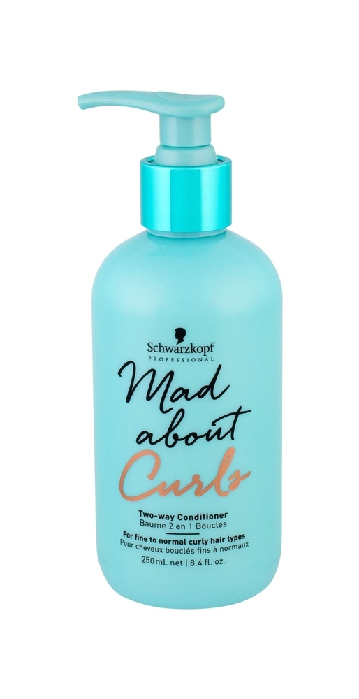 Schwarzkopf Mad About Curls Two-way Conditioner Conditioner 250ml (Fine Hair - Curly Hair)
