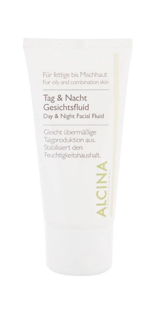 Alcina For Oily Skin Day Night Facial Fluid Day Cream 50ml (Oily - Mixed - For All Ages)