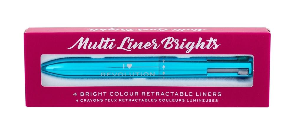 Makeup Revolution London I Heart Revolution Multi Liner Brights Eye Pencil 0,1gr oμορφια   μακιγιάζ   μακιγιάζ ματιών   μολύβια ματιών