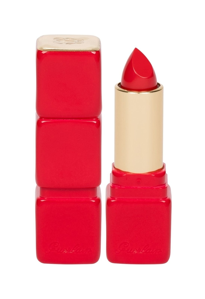 Guerlain Kisskiss Creamy Shaping Lip Colour Lipstick 3,5gr 325 Rouge Kiss (Glossy)