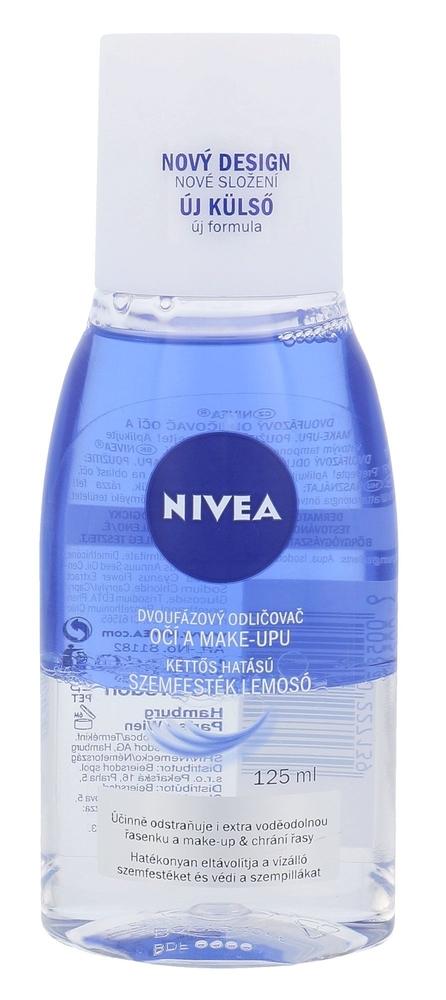 Nivea Double Effect Eye Make-up Remover Eye Makeup Remover 125ml