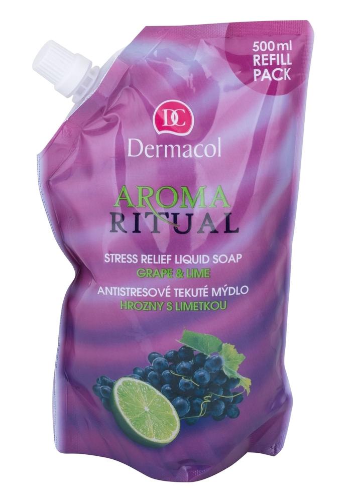 Dermacol Aroma Ritual Grape & Lime Liquid Soap 500ml Refill