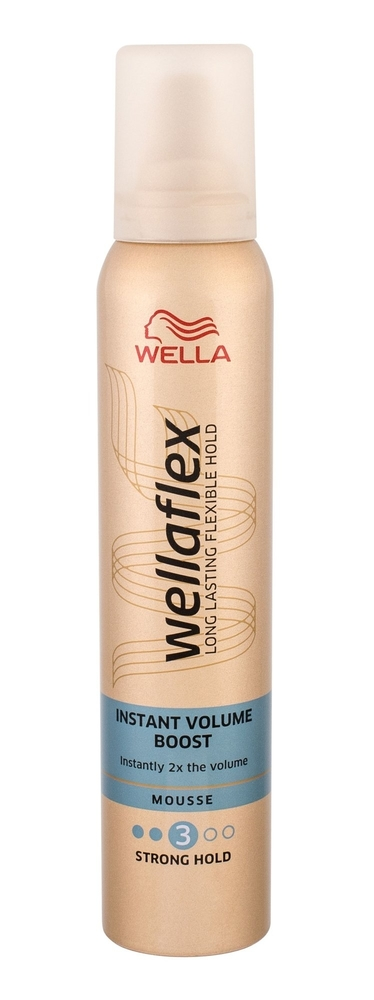 Wella Flex Instant Volume Boost Hair Mousse 200ml (Extra Strong Fixation) oμορφια   μαλλιά   styling μαλλιών   αφροί μαλλιών