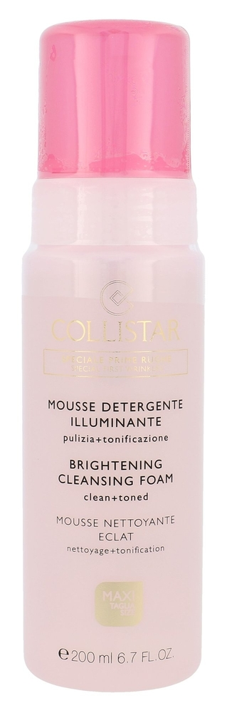 Collistar Special First Wrinkles Brightening Cleansing Foam Cleansing Mousse 200ml (All Skin Types)