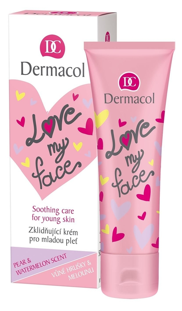 Dermacol Love My Face Soothing Care Day Cream 50ml (Young Skin - All Skin Types) oμορφια   πρόσωπο   κρέμες προσώπου