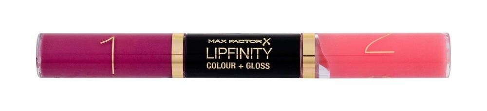 Max Factor Lipfinity Colour + Gloss Lipstick 2x3ml 650 Lingering Pink (Glossy)
