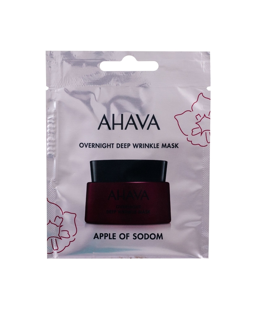 Ahava Apple Of Sodom Overnight Deep Wrinkle Mask Face Mask 6ml (First Wrinkles - All Skin Types)
