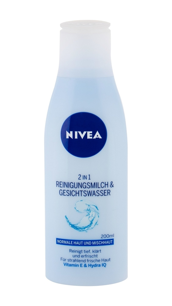 Nivea Cleansing Milk And Water 2 In 1 For Normal To Combination Skin 200 Ml Aqua Effect 200ml