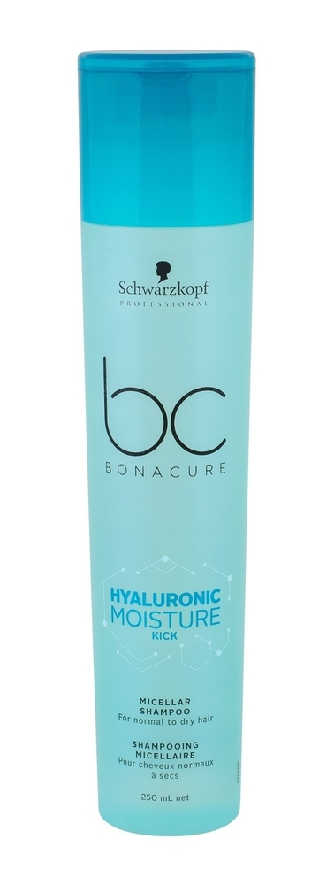 Schwarzkopf Bc Bonacure Hyaluronic Moisture Kick Shampoo 250ml (Normal Hair - Dry Hair)