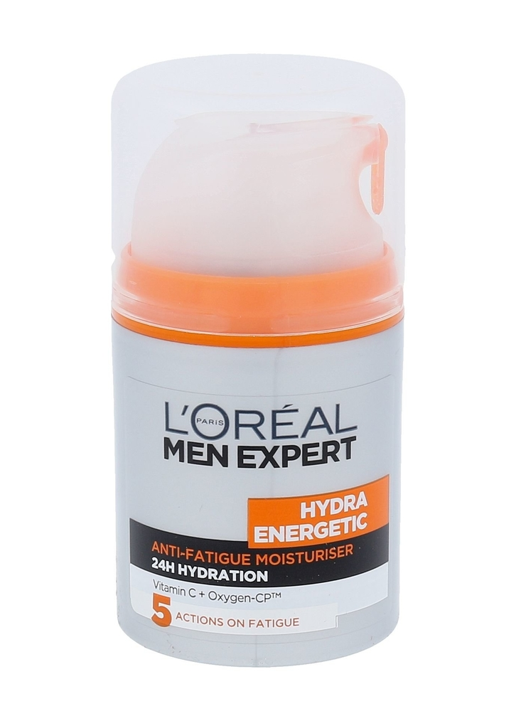 L/oreal Paris Men Expert Hydra Energetic Day Cream 50ml Daily Moisturising Lotion (Normal - For All Ages)