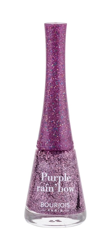 Bourjois Paris 1 Second Nail Polish 9ml 18 Purple Rain/bow