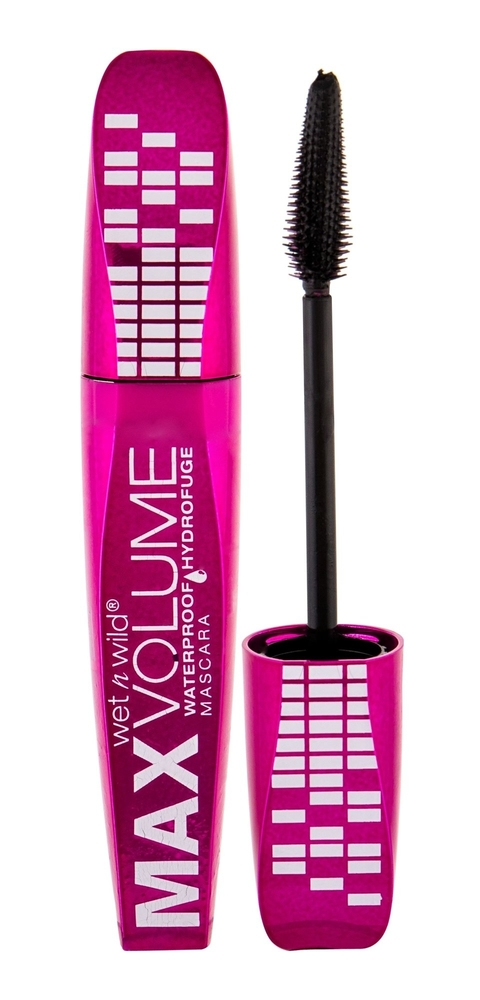 Wet N Wild Max Volume Plus Mascara 8ml Waterproof Amp/d Black