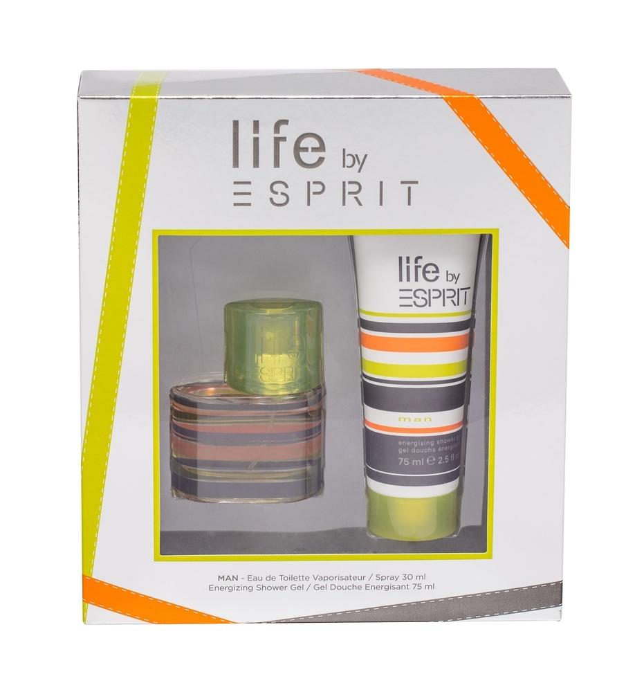 Esprit Life Eau De Toilette 30Ml & 75Ml Shower Gel