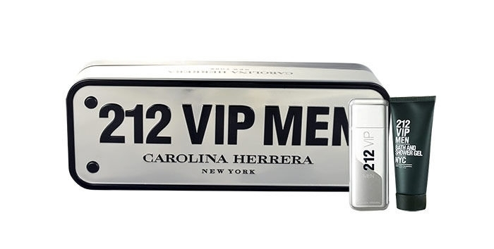 Carolina Herrera 212 Vip Men Eau De Toilette 50ml Combo: Edt 50ml + 100ml Shower Gel
