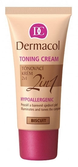 Dermacol Toning Cream 2in1 Bb Cream 30ml Biscuit