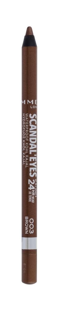 Rimmel London Scandal Eyes Kajal Eye Pencil 1,3gr Waterproof 24hr 003 Brown