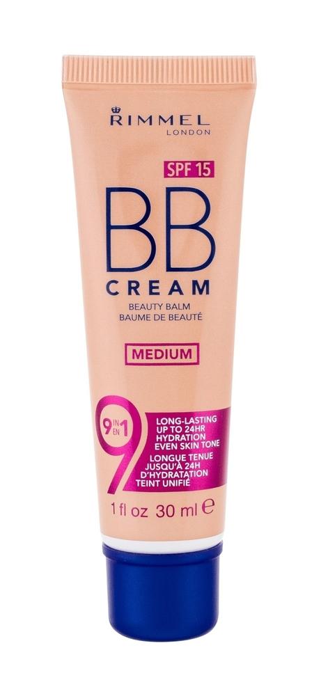 Rimmel London Bb Cream 9in1 Spf15 Bb Cream 30ml Medium oμορφια   πρόσωπο   κρέμες προσώπου
