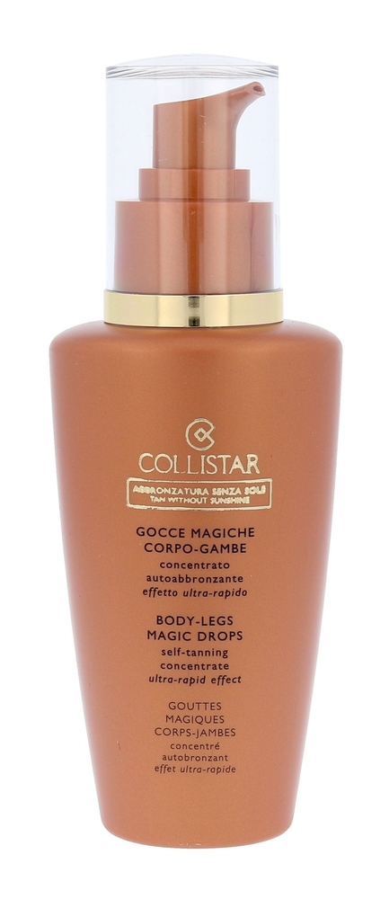 Collistar Tan Without Sunshine Body Legs Magic Drops Self Tanning Self Tanning Product 125ml