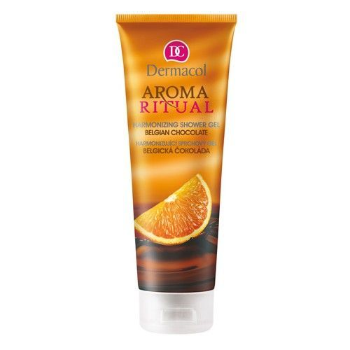 Dermacol Harmonizing Ritual AromShower Gel 250ml (Belgian Chocolate With Orange)