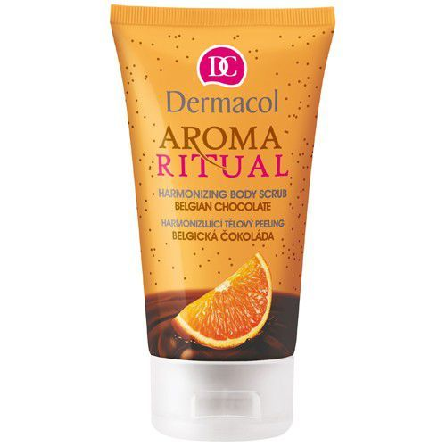 Dermacol Harmonizing Body Scrub Belgian Chocolate With Orange 150ml oμορφια   σώμα   peeling   scrub