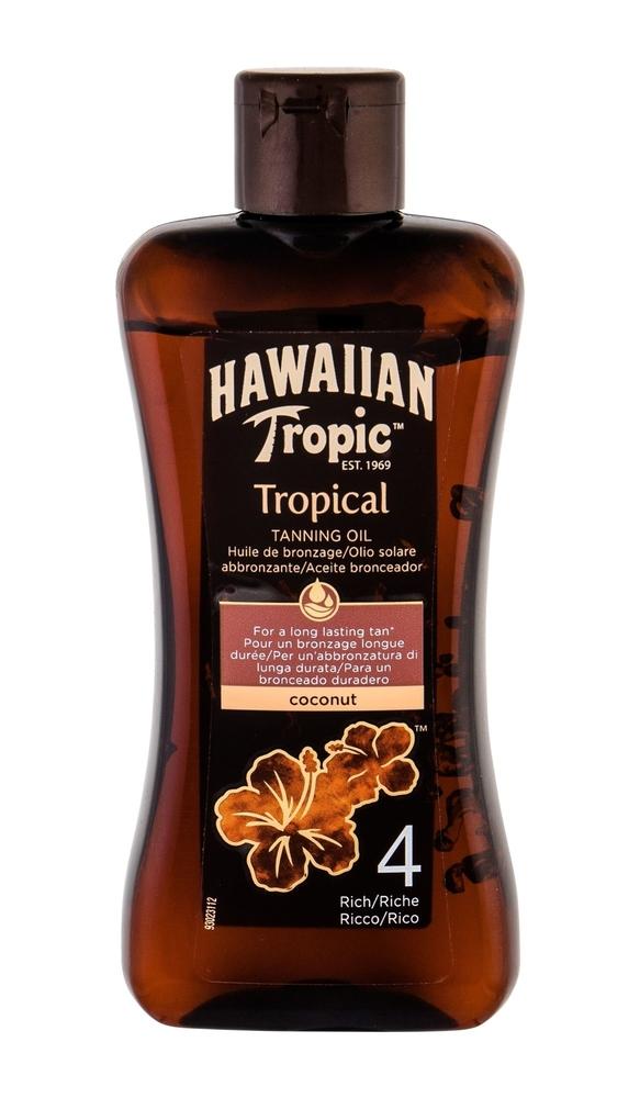 Hawaiian Tropic Tropical Tanning Oil After Sun Care 200ml Spf4