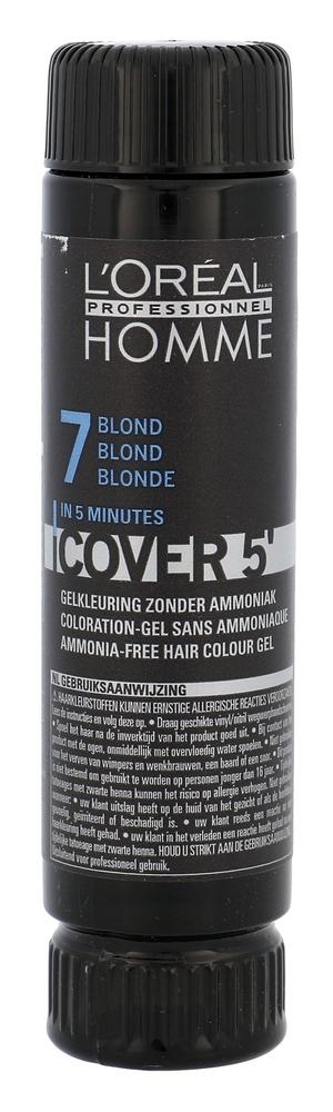 L/oreal Professionnel Homme Cover 5/ Hair Color 3x50ml 7 Medium Blond (Dry Hair) oμορφια   μαλλιά   βαφή μαλλιών   βαφές μαλλιών