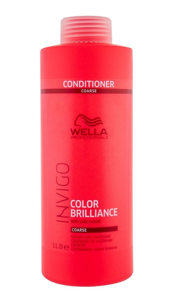 Wella Wpc Invigo Brilliance Coarse Hair Conditioner 1l