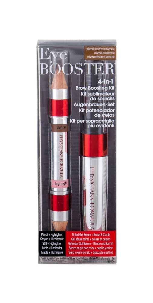 Physicians Formula Eye Booster 4-in-1 Brow Boosting Eyebrow Pencil 1,8gr - Set Universal Brown