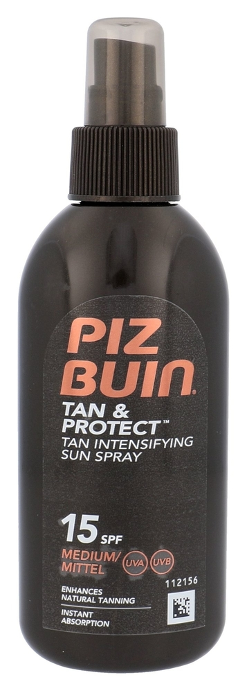 Piz Buin Tan Intensifier Sun Spray Spf15 Sun Body Lotion 150ml oμορφια   αντηλιακή προστασία   αντηλιακά σώμα πρόσωπο   αντηλιακά