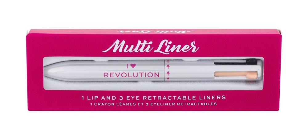 Makeup Revolution London I Heart Revolution Multi Liner Eye Pencil 0,1gr oμορφια   μακιγιάζ   μακιγιάζ ματιών   μολύβια ματιών