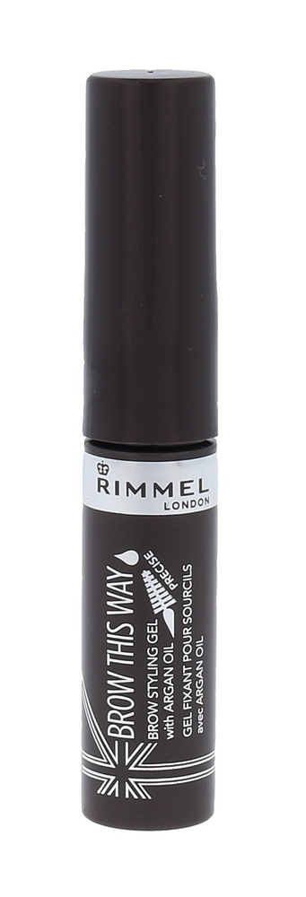 Rimmel London Brow This Way Brow Styling Gel Eyebrow Mascara 5ml 003 Dark Brown