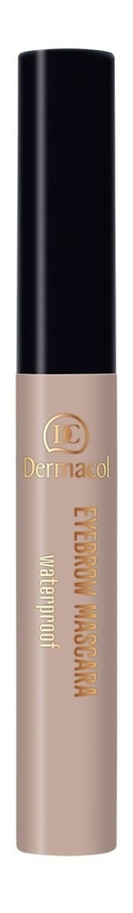 Dermacol Eyebrow Eyebrow Mascara 4,5ml Waterproof 1 oμορφια   μακιγιάζ   μακιγιάζ ματιών   μολύβια φρυδιών