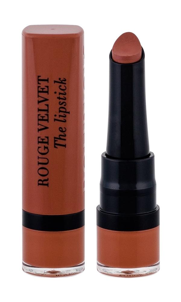 Bourjois Paris Rouge Velvet The Lipstick Lipstick 2,4gr 16 Caramelody (Matt)