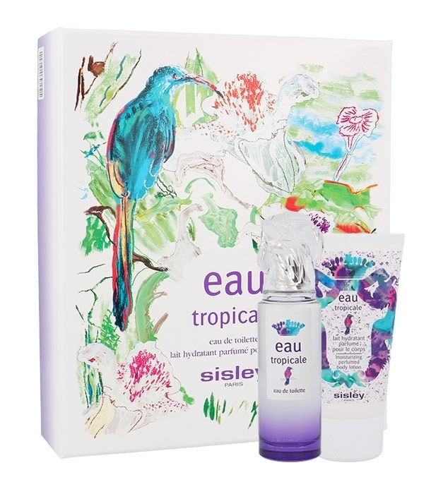 Sisley Eau Tropicale Eau De Toilette 50ml Combo: Edt 50ml + 50ml Body Lotion